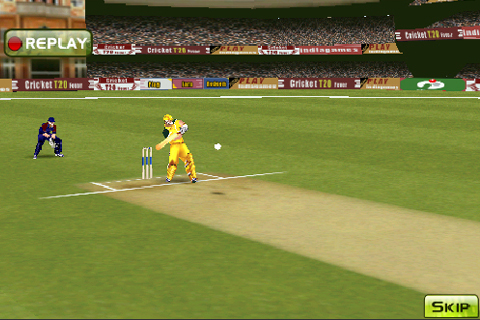 Screenshot Cricket T20 Fever Lite